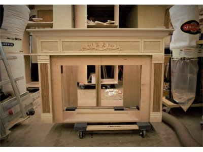 Fire Fireplace Mantle