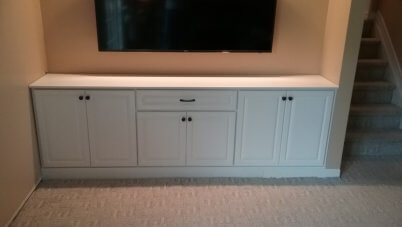TV Cabinet Cabinets Entertainment White Paint Drawer Drawers Storage